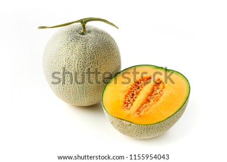 Cantaloupe melons image
