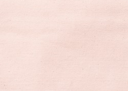 Canvas texture background of cotton burlap natural fabric cloth in pastel rose pink for wallpaper and design backdrop