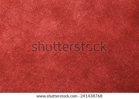 Canvas textured red background. #241438768