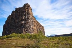 Canyon Asbyrgi in jokulsargljufur National Park, Iceland