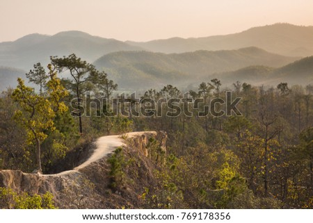 Shutterstock Canyon in Pai, Mae Hong Son, Nothern Thailand/ Beautiful view of Pai Canyon at sunset, mountain on background. A very popular place for tourists in Pai