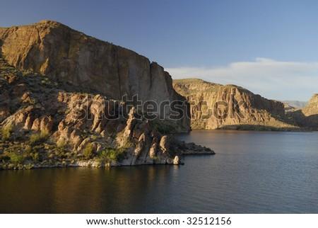 Canyon Lake near Phoenix in southern Arizona