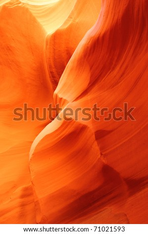 Canyon X slot canyon, Page, Arizona, USA