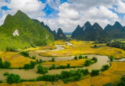 Cao Bang mountain scenery - Vietnam