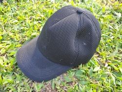 cap headgear slang black texture