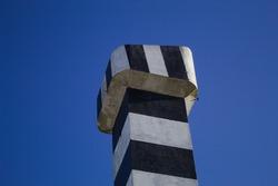 Capão da Canoa beach lighthouse in Brazil