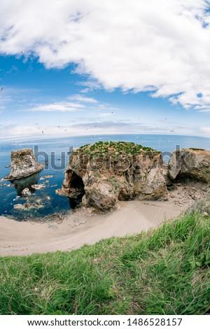 Cape Bird, Sakhalin Island, East Coast Сток-фото ©