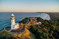 Cape Byron Light House in Byron Bay, New South Wales, Australia
