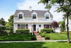 Cape Cod Bungalow style suburban home