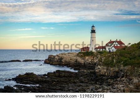 Cape Elizabeth Lighthouse #1198229191