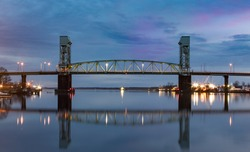 Cape Fear Memorial Bridge Wilmington NC