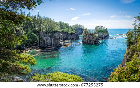 Cape Flattery, Washington, USA Stock photo ©