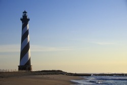 Cape Hatteras Lighthouse at Cape Hatteras National Seashore, NC