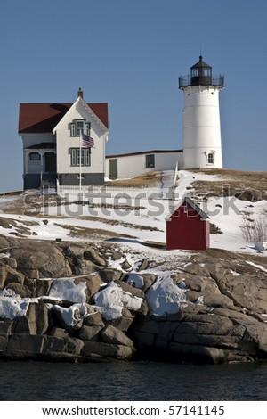 cape neddick lighthouse in maine