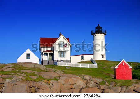 "Cape Neddick (""Nubble"") Lighthouse, Maine"