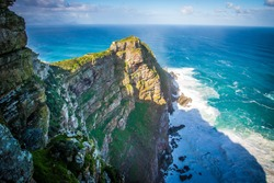 Cape Of Good Hope With Sunshine In Cape Town In South Africa