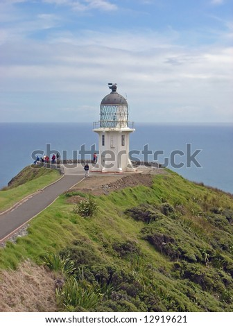 Cape Reinga Lighthouse at the top of the North Island, New Zealand.