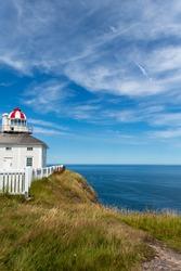 Cape Spear in Newfoundland, Canada