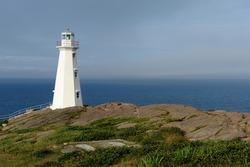Cape Spear lighthouse in Newfoundland, Canada