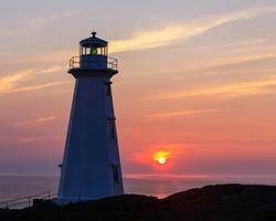Cape Spear lighthouse, Newfoundland and Labrador, Canada.
