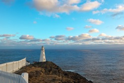 Cape Spear lighthouse, Newfoundland, Canada