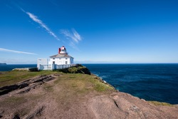 Cape Spear Lighthouse, Newfoundland, most eastern point in Canada
