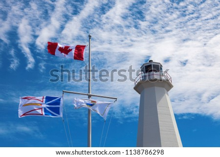 Cape Spear Lighthouse. St. John's, Newfoundland and Labrador, Canada.