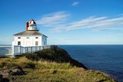 Cape Spear National Historic Site, Originally built 1836, Avalon Region of Newfoundland