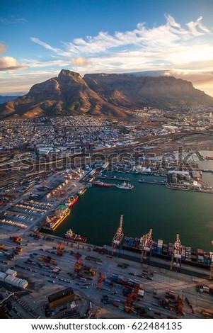 Cape Town Aerial  #622484135