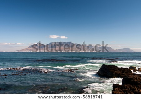 Cape town and Table mountain #56818741