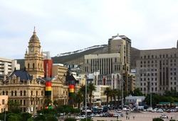 Cape Town city center, SAR