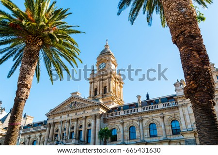Cape Town City Hall, South Africa #665431630
