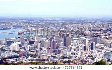 Cape Town's Central Business District #727564579