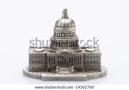 Capital Building Statue