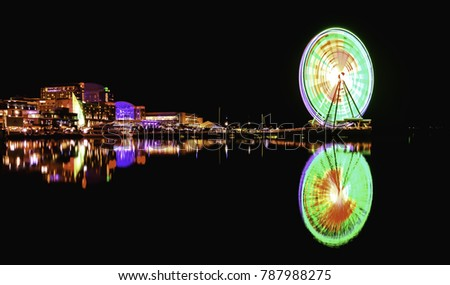 Capital Wheel at National Harbor, Maryland, USA #787988275