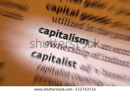 Capitalism is an economic and political system in which a country\'s trade and industry are controlled by private owners for profit, rather than by the state.