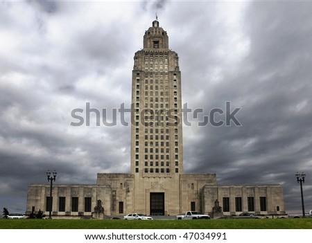 Capitol building in Baton Rouge, Louisiana