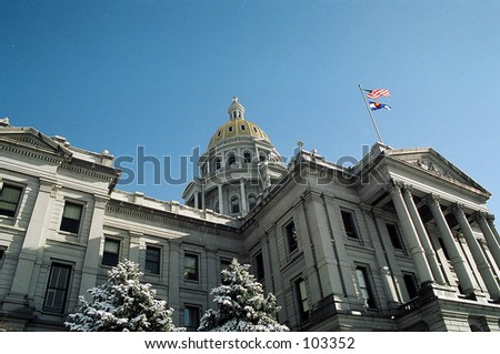 Capitol building in Denver