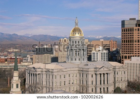 Capitol Building in Denver, CO