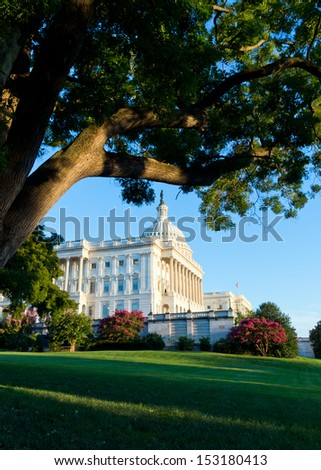 Capitol Building in Washington DC
