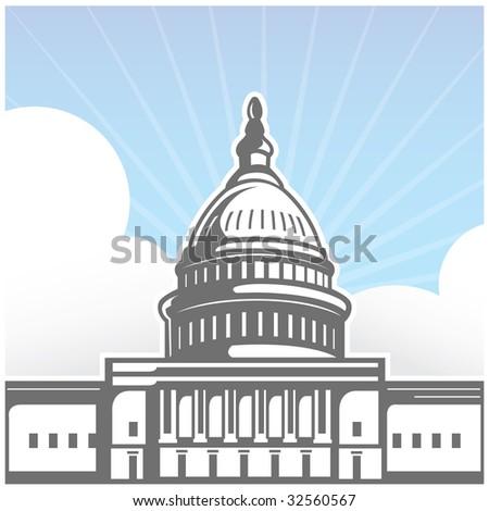 Capitol Hill - stock photo