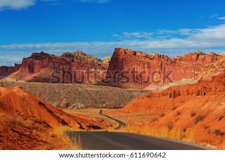 Capitol Reef National Park, Utah #611690642