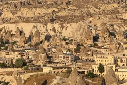 Cappadocia during day time with beautiful light. The world best places with mountains. Goreme, Cappadocia, Turkey