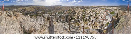 Cappadocia, the famous and popular tourist destination at Turkey, as it has many areas with unique geological, historic and cultural features.