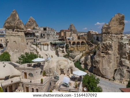 Cappadocia, Turkey - A Unesco World Heritage site, Cappadocia is famous for its fairy chimneys, houses and castles carved in the rock, and a unique historical and cultural heritage