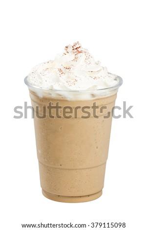 Cappuccino frappe #379115098