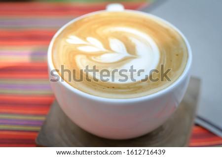 cappuccino, hot cappuccino or hot coffee