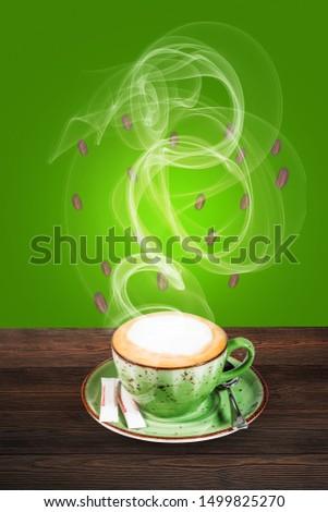 cappuccino poster design, cappuccino wallpaper