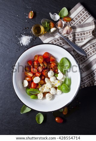 caprese salad Zdjęcia stock ©