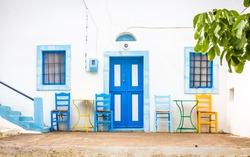 Captivating Zia village at greek Kos island